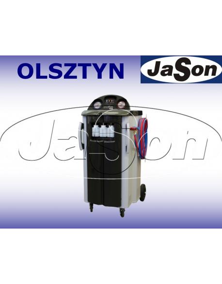 Automatyczne urządzenie do obsługi układów klimatyzacji