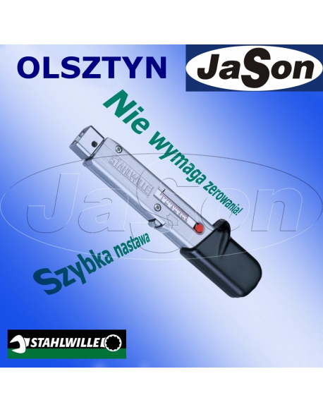 Klucz dynamometryczny pod zabierak 8-40Nm /9x12m