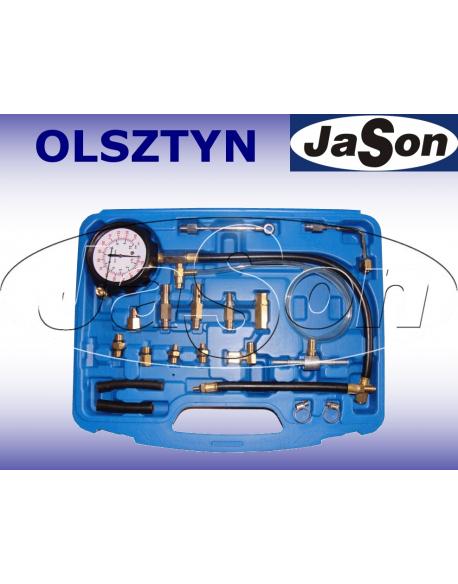 Miernik ciśnienia paliwa / na szybkozłączkach/ walizka plastikowa