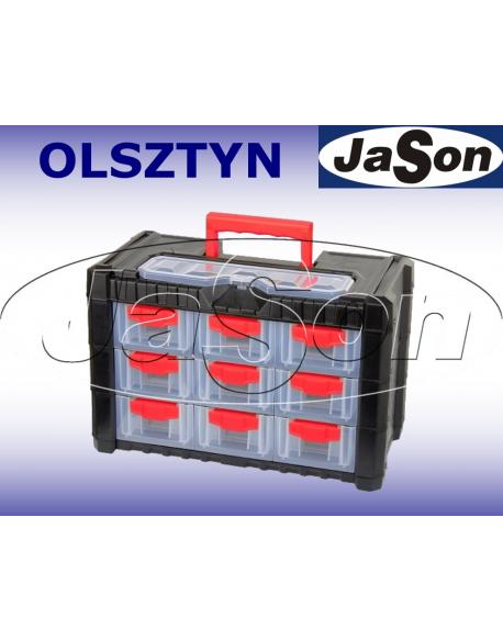 Skrzynka Organizer 13 szufladek 260x200x400mm PROLINE HD