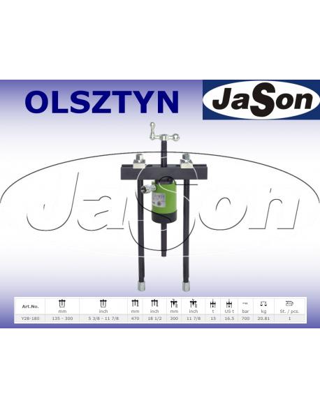 Ściągacz odklejacz hydrauliczny 135-300mm / 700 bar / 15 T