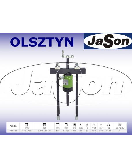 Ściągacz odklejacz hydrauliczny 180-420mm / 700 bar / 25 T