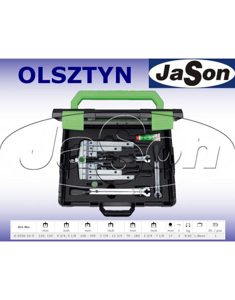 Zestaw ściągaczy 2-3-ramiennych 120x130mm / 100 - 350mm walizka plastikowa