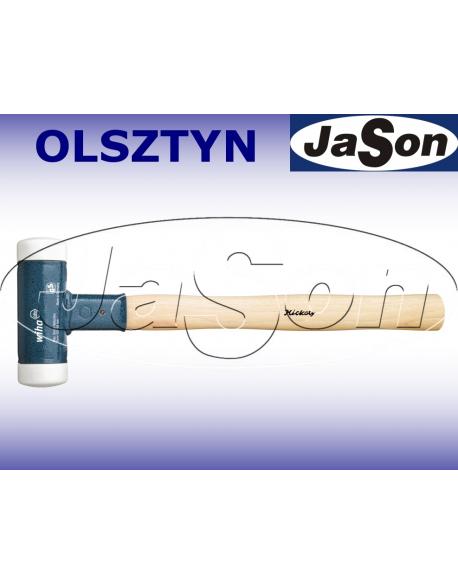 Młotek blacharski /Fi 60mm/ 2,0kg / tworzywo/ bezodrzutowy/ biały