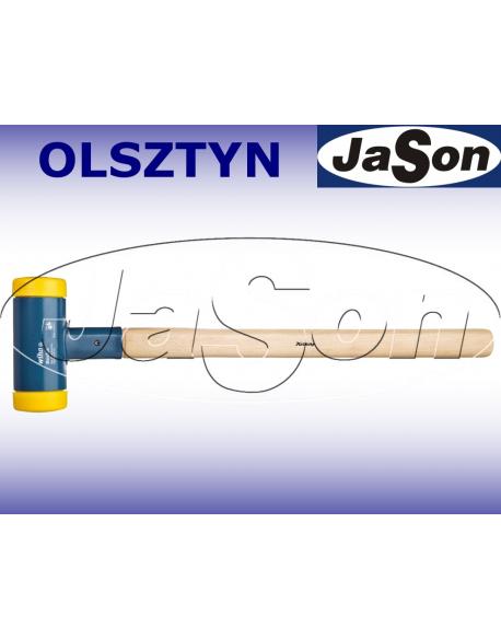 Młotek blacharski /Fi 80mm/ 4,55kg / tworzywo/ bezodrzutowy/ żółty