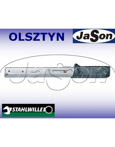 """Klucz dynamometryczny pod zabierak 25-130Nm /14x18mm/ ± 3% / z grzechotką 1/2"""" / kaseta"""