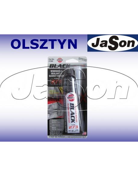 Uszczelniacz silikon / 85g/ czarny
