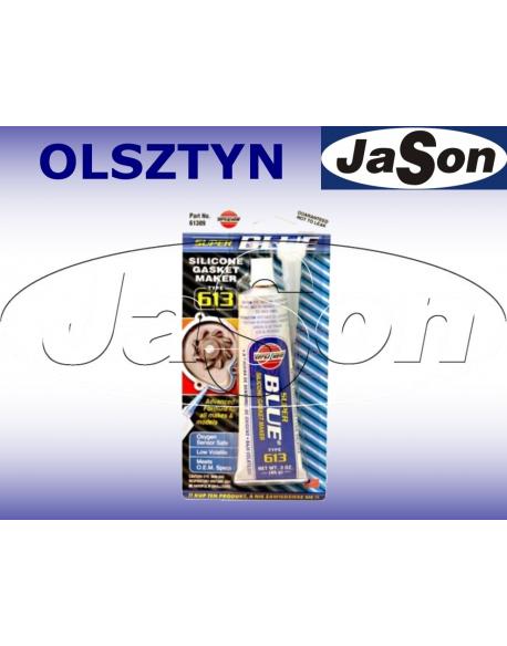 Uszczelniacz silikon / 85g/ niebieski