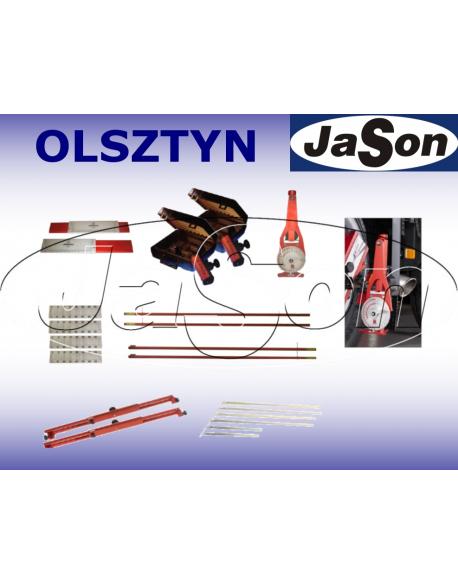 Urządzenie laserowe do geometrii kół i osi pojazdów ciężąrowych pow. 3,5t typ ADVANCE