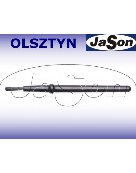 Szczotka ręczna 1-punktowa 123mm/ 7mm/ nylon/ ESD / pędzelkowa