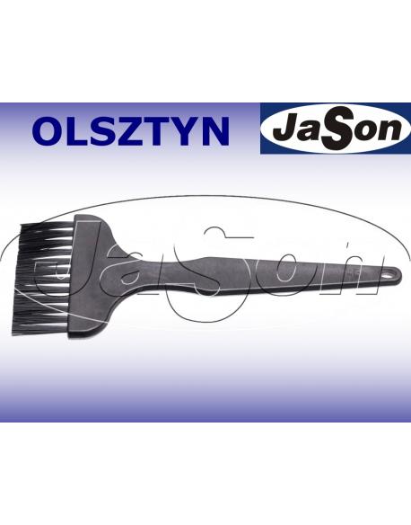 Szczotka ręczna 1-rzędowa 146mm/ 8mm/ nylon/ ESD