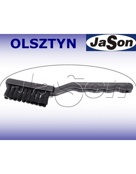 Szczotka ręczna 2-rzędowa 175mm/ 14mm/ nylon/ ESD