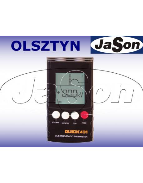 Miernik pola elektrostatycznego / ESD antystatyczny / LCD / 9V
