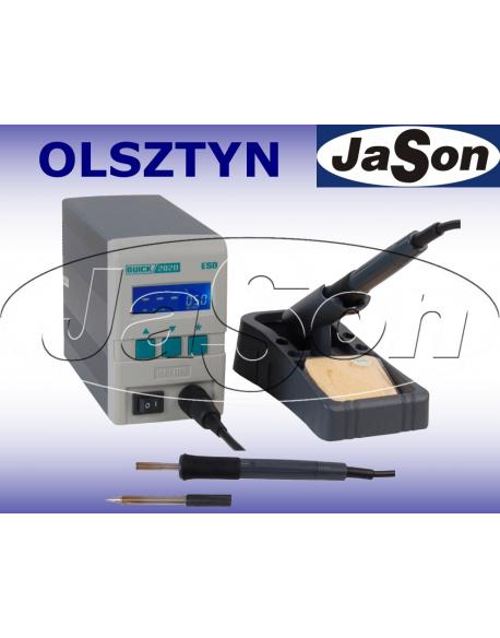 Stacja lutownicza 90W ESD / 48V/400kHz / cyfrowa LCD / 80°C ÷480°C