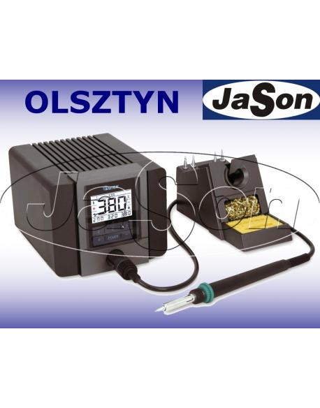 Stacja lutownicza 90W / 230V AC / cyfrowa LCD / 100°C ÷480°C/ ESD