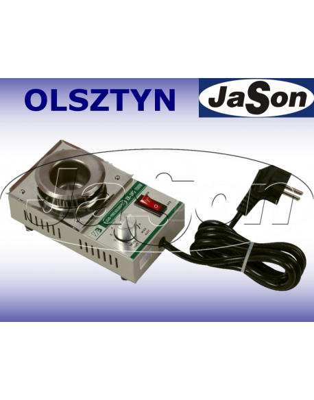 Tygiel lutowniczy 150W / 450°C / wsad 300 g / śr. 38mm / RoHS / tytan