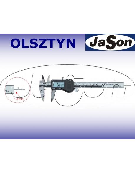 Suwmiarka elektroniczna 150mm / 0,03 mm / głębokościomierz okrągły ze śrubą MAGa / GIMEX