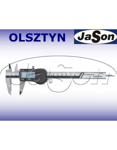 Suwmiarka elektroniczna 300mm / 0,03 mm / głębokościomierz płaski/ ze śrubą MAGa / GIMEX
