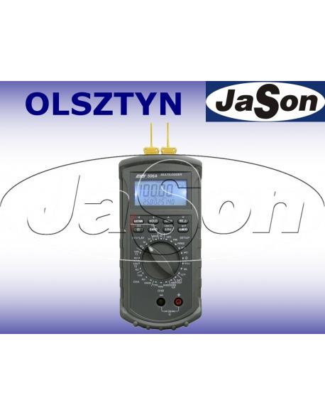 Termometr logger/rejestrator 4 kanałowy kl. 0,05% RS232