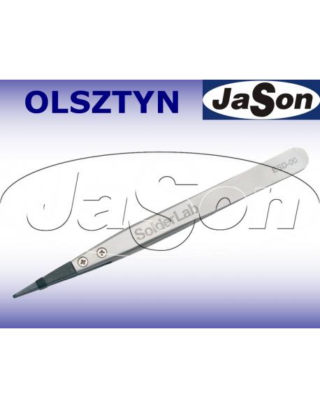 Pinceta 129mm / prosta / ostra / ESD-00 antystatyczna
