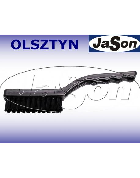 Szczotka ręczna 3-rzędowa 225mm/ 22mm/ nylon/ ESD