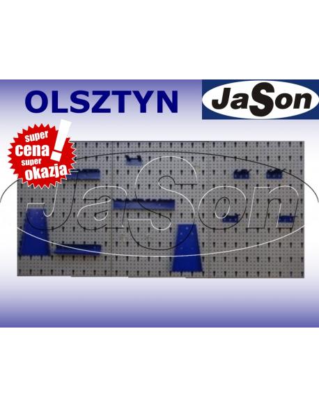 Ścianka narzędziowa 1200mm/ 600mm/ 15mm/ z akcesoriami [3cz.]