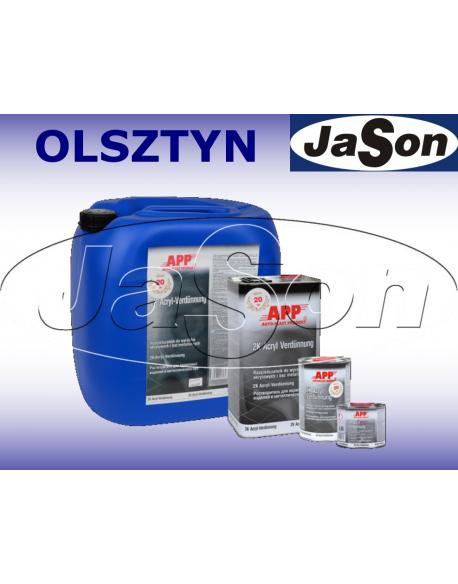 Rozpuszczalnik do lakierów bazowych i wyrobów akrylowych 1 l / tryb parowania normalny
