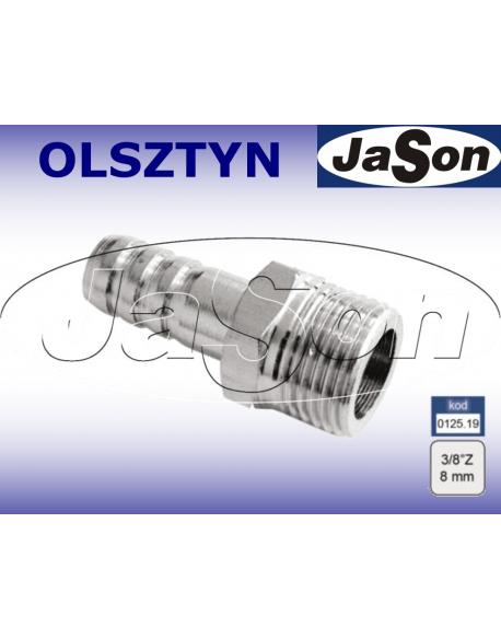 """Końcówka do instalacji pneumatycznej 3/8""""/ GZ -8mm"""