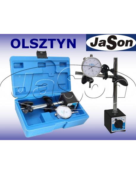 Statyw magnetyczny z czujnikiem zegarowym