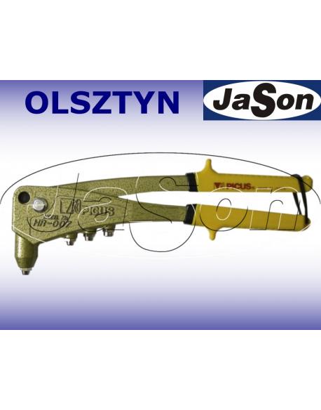 Nitownica ręczna 2,4 - 4,8mm