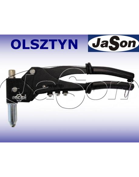 Nitownica ręczna 2,4 - 4,8mm/ z obrotową głowicą