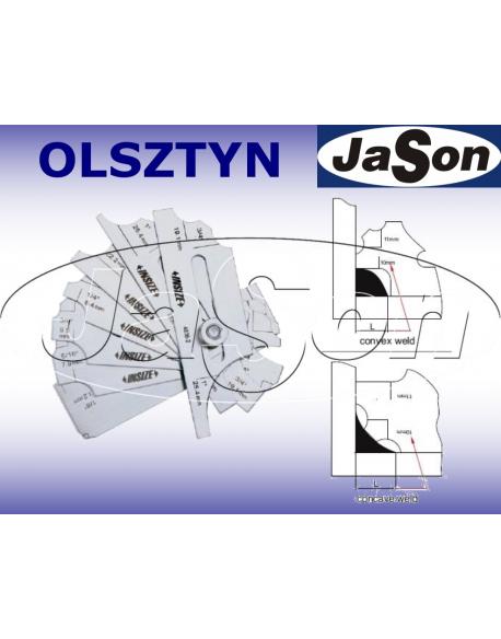 Spoinomierz 1/8''-1'' SPF-1.MS6 do spoin wklęsłych i wypukłych