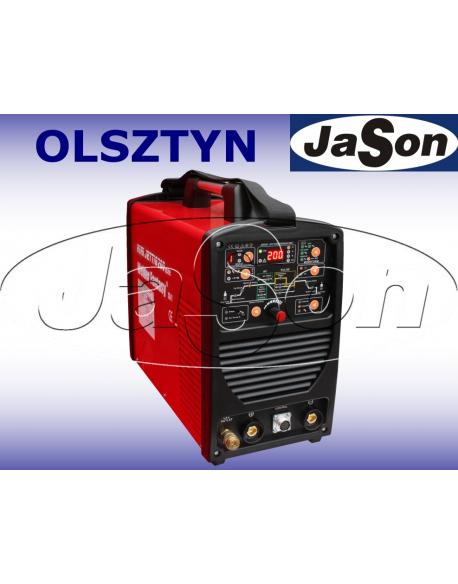 Spawarka inwerterowa MINI JET TIG 200 IGBT / 230V / AC/DC / MMA