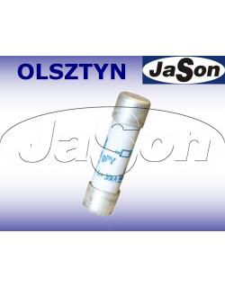 Bezpiecznik ceramiczny 10A / 1000V / DC gPV / 10x38mm do fotowoltaiki