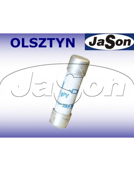 Bezpiecznik ceramiczny 8A / 1000V / DC gPV / 10x38mm do fotowoltaiki