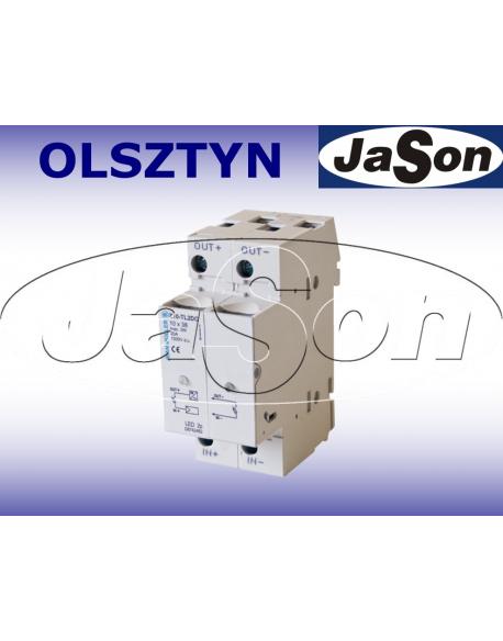 Rozłącznik bezpiecznikowy 1000V / DC / 10x38mm / Z10-TL2 / JM / do fotowoltaiki