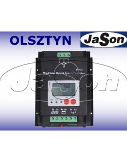 Regulator hybrydowy ładowania solarny 12/24V / 30A / Wind-Solar SW300-600