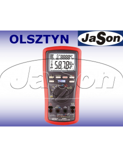 Multimetr TRMS/ AC+DC / VFD/ z pomiarem rezystancji izolacji 50V-1000V Earth Cont. 200mA