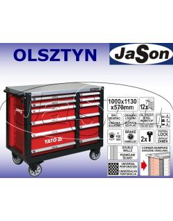 Wózek narzędziowy 12-szufladowy