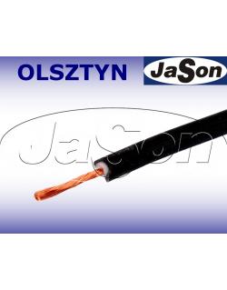 Przewód mierniczy silikonowy czarny 10A Li2G-0,5mm2 BK - HIRSCHMANN