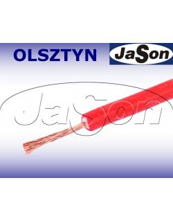 Przewód mierniczy silikonowy czerwony 10A Li2G-0,5mm2 R - HIRSCHMANN
