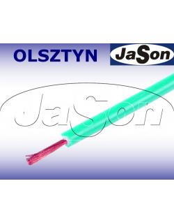 Przewód mierniczy silikonowy elastyczny zielony 20A Li2G-0,5mm2 GN - HIRSCHMANN