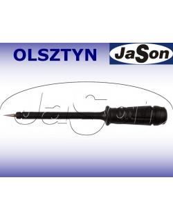 Sonda pomiarowa 6A, gniazdo 4mm, czarna- HIRSCHMANN PRUEF 2-BK