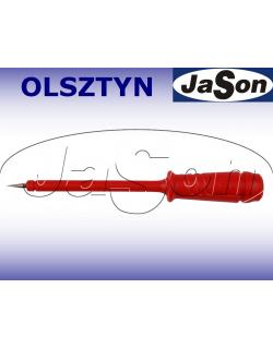 Sonda pomiarowa 6A, gniazdo 4mm, czerwona- HIRSCHMANN PRUEF 2-R