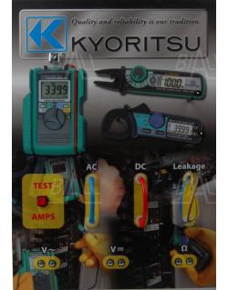 Panel demonstracyjny miernków cęgowych Kyoritsu - Kyoritsu KEW8215