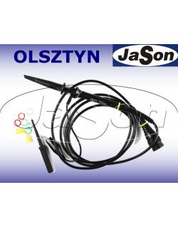 Sonda oscyloskopowa 10M/300MHz, 1X/10X, 46/12pf, 1M/10Mohm, 300V/600V - SIGLENT PP430