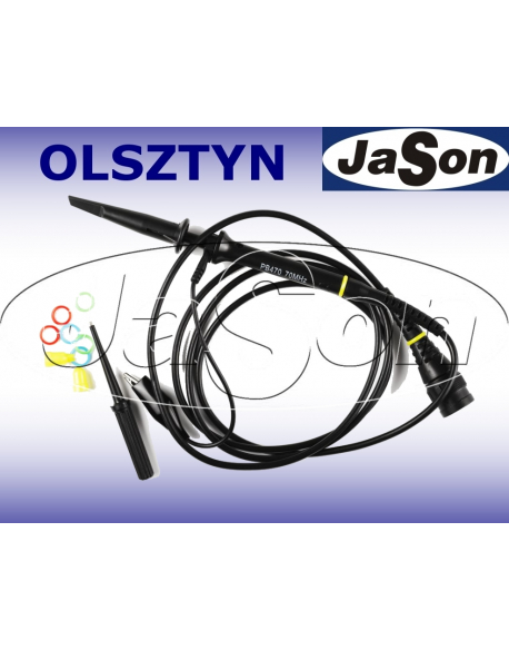 Sonda oscyloskopowa 300MHz, 10X, 12pf, 10Mohm, 600V - SIGLENT SP2030A