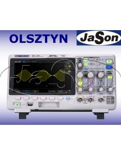 Oscyloskop 100MHz, 2 kanały, 1GSa/s,14Mpts, SPO - SIGLENT SDS1102X