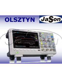 Oscyloskop 200MHz, 2 kanały, 1GSa/s, 14Mpt, 100,000 wfm/s, SPO - SIGLENT SDS1202X-E