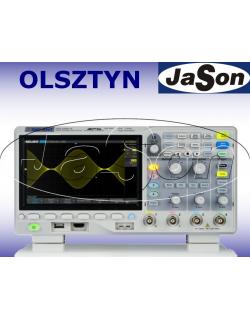 Oscyloskop 200MHz, 4 kanały, 1GSa/s, 14Mpt, 100,000 wfm/s, SPO - SIGLENT SDS1204X-E